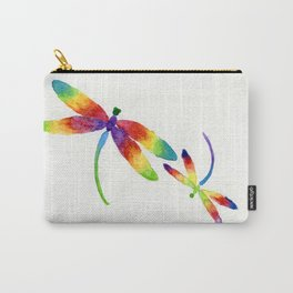 Little Rainbow Dragonflies Carry-All Pouch