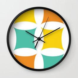 Retro Mid-Century Modern II Wall Clock