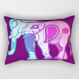 Colourphant Rectangular Pillow
