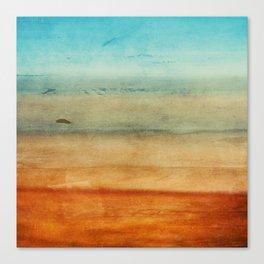 Abstract Seascape No 4: the beach Canvas Print