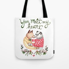Melt My Heart Tote Bag