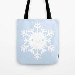 Kawaii Snowflake Tote Bag