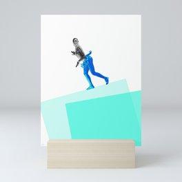Jasephine Balances Herself Mini Art Print
