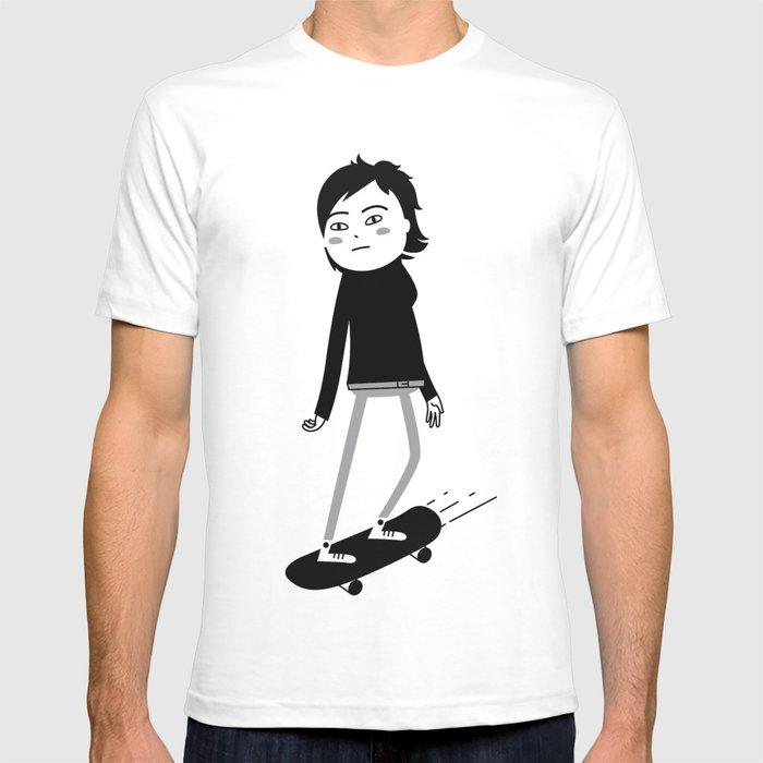 Skater chick_01 T-shirt