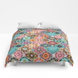Bohemian summer Comforters