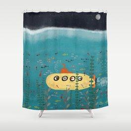another little adventure Shower Curtain