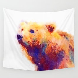 The Protective - Bear Wall Tapestry