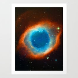 Eye Of God - Helix Nebula Art Print