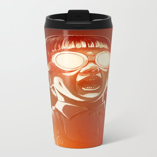 FIREEE! Metal Travel Mug