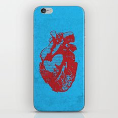 Binary heart iPhone & iPod Skin