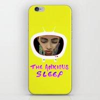 The Anxious Sleep iPhone & iPod Skin