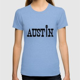Austin Texas Graphic with Guitar T-shirt