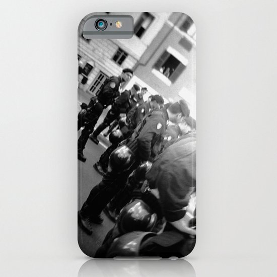 Roman student protest iPhone & iPod Case