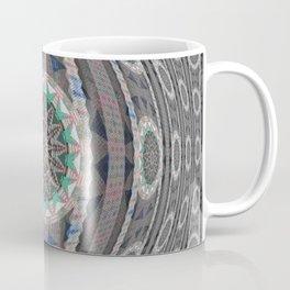 A Mandala is Born Boho Weaving Threads Elegant HDR Print Coffee Mug