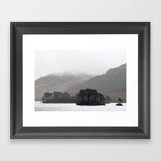 The pull of the land Framed Art Print