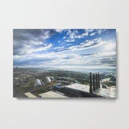 Kansas City - After The Rain Metal Print