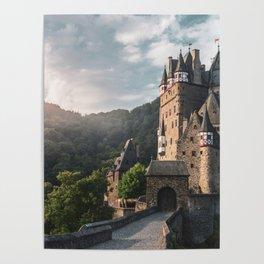 Sunrise At Castle Eltz, Germany Poster