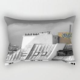 Rooftops of Paris Rectangular Pillow