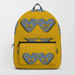butterfly cartoons in hearts Backpack
