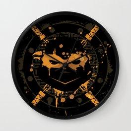Michelangelo Turtle Wall Clock