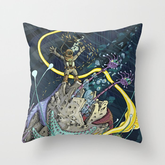 Big Life Throw Pillow