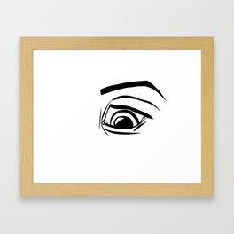 Worry Framed Art Print