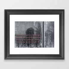 I was looking Framed Art Print