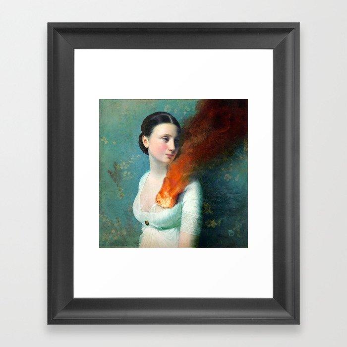 Portrait of a Heart Gerahmter Kunstdruck