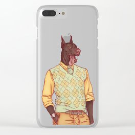Rudolph the Great Dane Clear iPhone Case