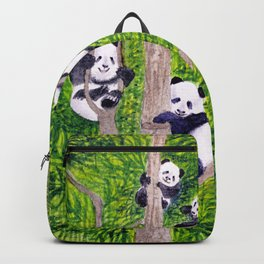 Giant Panda Bears - Hey It's Time To Eat Backpack