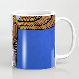 "Art Deco Orientalism ""Cleopatra"" Design Coffee Mug"