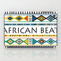 african iPad Cases featuring African beat by mike lett