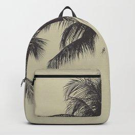 Tropical palm tree Backpack