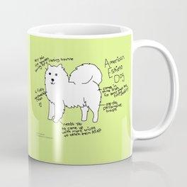 American Eskimo Dog Coffee Mug