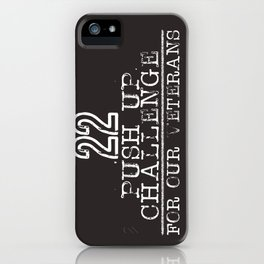22 for Veterans iPhone Case
