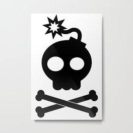 Head Bang! Metal Print