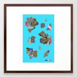 MINERAL SPECTRUM Framed Art Print
