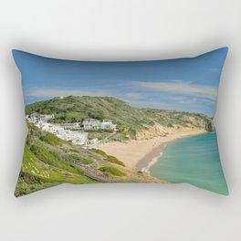 Praia da Salema, Portugal Rectangular Pillow