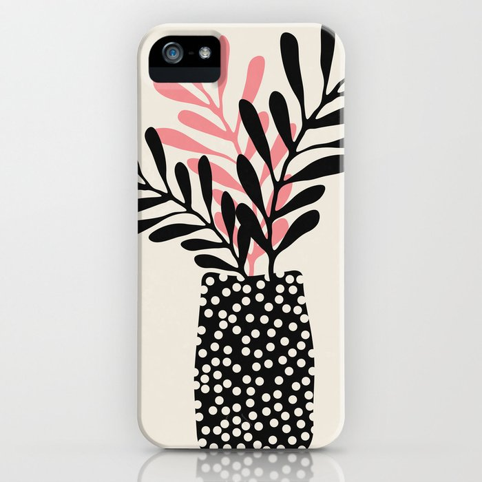 Still Life with Vase and Three Branches iPhone Case