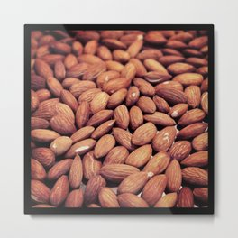 Toasted Almonds Metal Print