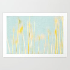 reed abstract 4 Art Print