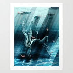 Dance of the Waterlily Art Print