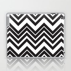 Black Chevron Laptop & iPad Skin