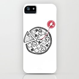 Cheesy Music iPhone Case