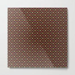 Honeycombs pattern Metal Print