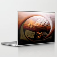 pirates Laptop & iPad Skins featuring Pirates  by valzart