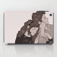 twins iPad Cases featuring twins by JohannaTheMad