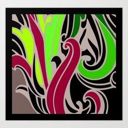 floral patterns Art Print