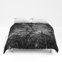 Dallas map Texas Comforters