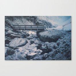 Cold Start Canvas Print